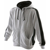 Mens Finden Hales Full Zip Cotton Rich Brush Back Fleece Hoodie Hooded Top