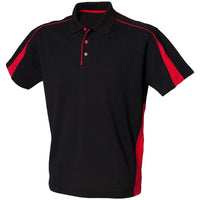 Mens Finden Hales Club Polo Taped Neck Collar Short Sleeve Shirt Top