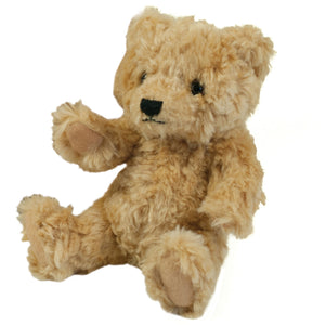 Mumbles Baby Toddler Classic Jointed Plush Fur Teddy Bear (Brown)