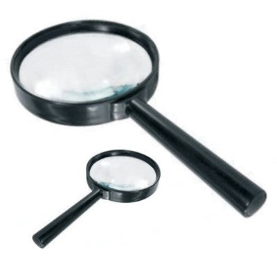 Pack of 2 Magnifying Magnifier Glass for Reading Maps Science