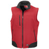 Mens Result Softshell Body Warmer Waterproof Winter Warm Jacket Coat Top