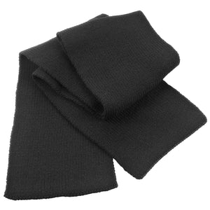 Mens Result Classic Winter Warm Heavy Knit Scarf