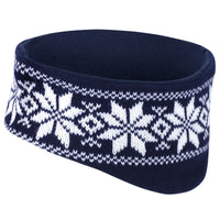 Mens Result Fair Isle Snow Flake Winter Warm Warmer Head Band