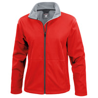 Ladies Women Result Core Softshell Winter Wind Stop Jacket Top