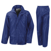 Mens Result Core Rain Waterproof Windproof Suit Trouser and Jacket Top
