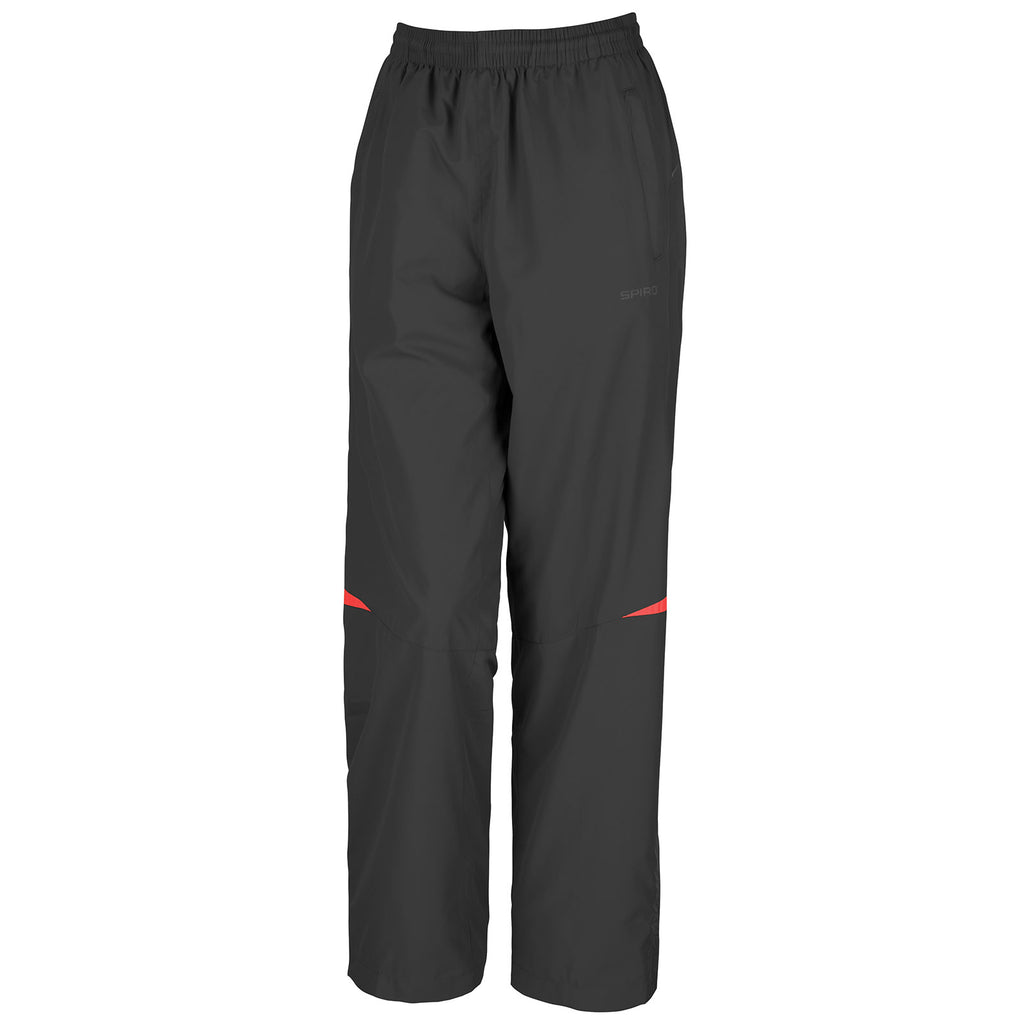 Ladies Women Spiro Micro-LiteTeam Track Suit Training Light Pant Trouser Bottom