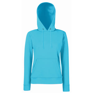 Ladies Women Fruit of the Loom Classic Cotton Rich Hoodie Hooded Sweat Top