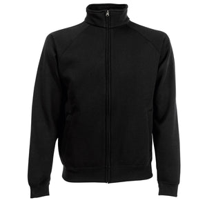 Mens Fruit of the Loom Premium Polyester Rich Full Zip Sweat Jacket
