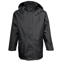 Mens 2786 Water Resistant Warm Parka Quilt Lined Jacket Top