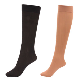 6 x Ladies / Women 80 Denier Knee High Trouser Pop Socks