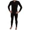 Men All in One Union Winter Warm Ski Thermal Underwear Boiler Suit Zip Up