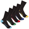 5 x Boys Kids Children Days of the Week School Socks Novelty MON-FRI