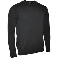 Mens Glenmuir 100% Lambs Wool Woollen Crew Neck Sweater Top