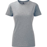 Ladies Women Russell HD Bright Colour Long Length Short Sleeve T Shirt Top