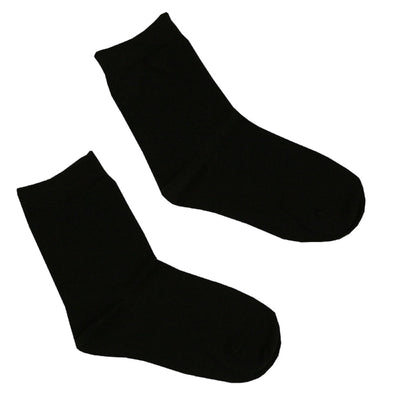 6 x Kids Children Boy Girl 100% Cotton School Socks