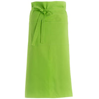 Bar Bistro Kitchen Club Pub Restaurant Long Cotton Apron Money Towel Pocket Zip