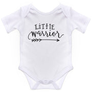 Boy Girl Body Suit Baby Grow Little Warrior