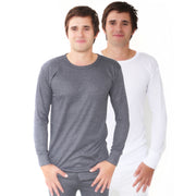Mens Long Sleeved Winter Warm Brushed Premium Thermal Wear Underwear (British Made in Britain)