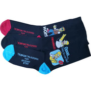 3 x Mens Simpsons Cartoon Character Socks