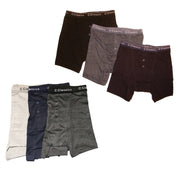 12 x Mens Button Fly Boxer Shorts Underwear