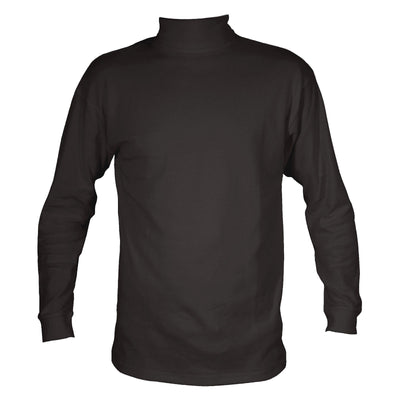 Mens Roll Neck Thermal Underwear Baselayer T Shirt Top Winter Warm