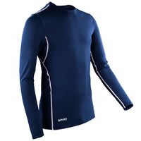 Ladies Women Spiro Compression Bodyfit Base Layer Long Sleeve Top