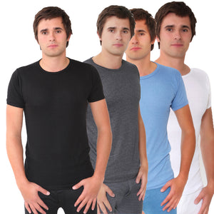 Twin Pack of Big Size BRITWEAR®  Thermal Short Sleeve