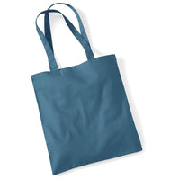 Westford Mill Promo Hand Shoulder 100% Cotton Colour Tote Bag