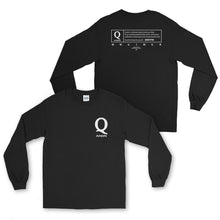 Q ANON: DISCLOSURE PROJECT LONG SLEEVE T-SHIRT