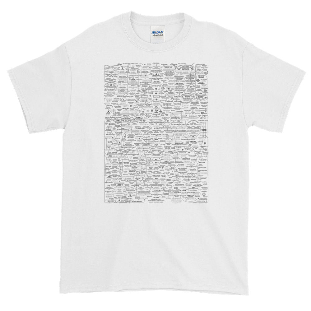 Q-WEB & SEPHIROT MAP T-SHIRT