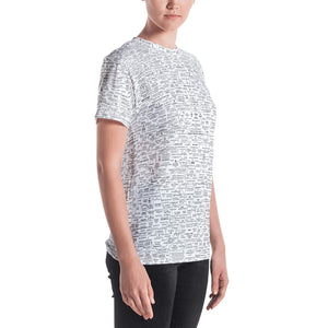 Q-WEB ALL-OVER WOMEN'S T-SHIRT v.7.17