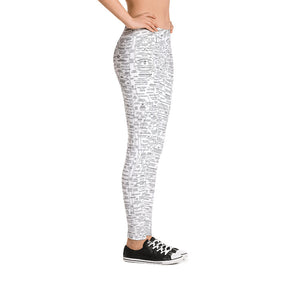 Q-WEB LEGGINGS (WHITE)