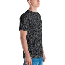 Q-WEB ALL-OVER T-SHIRT (BLACK) v 7.17