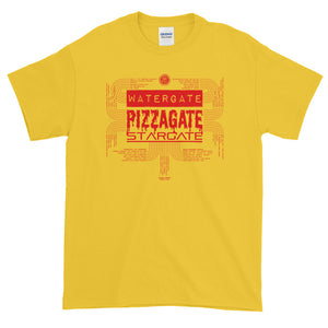 """KNOW THY GATES"" T-SHIRT (PIZZA)"