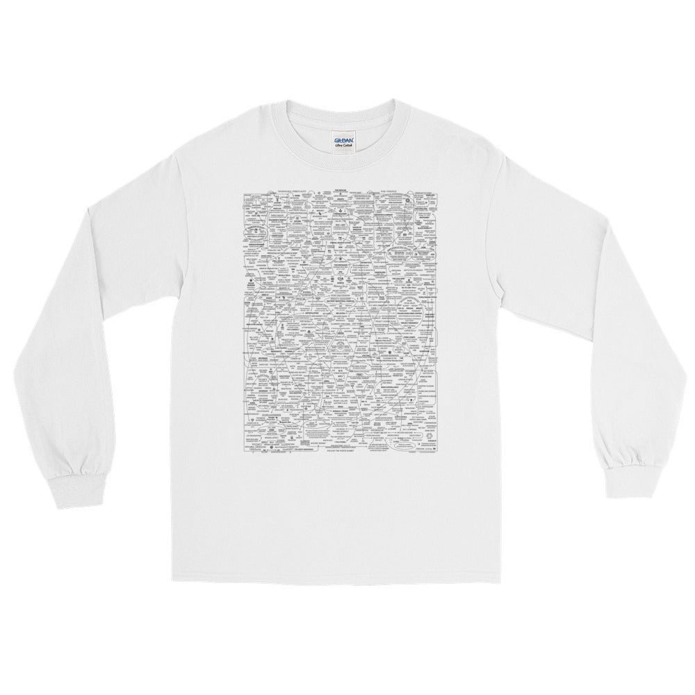 Q-WEB LONG SLEEVE T-SHIRT (TEMPLAR)