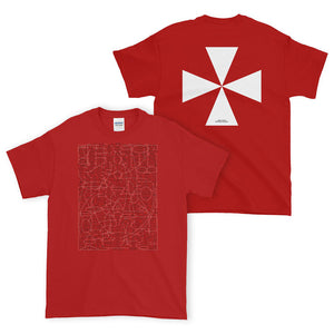 Q-WEB T-SHIRT (RED)