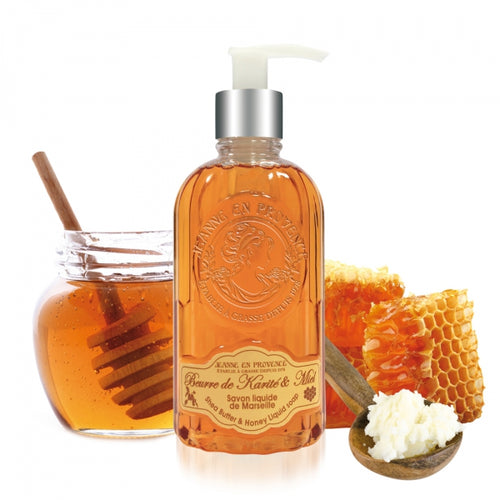 Shea Butter & Honey Liquid Soap