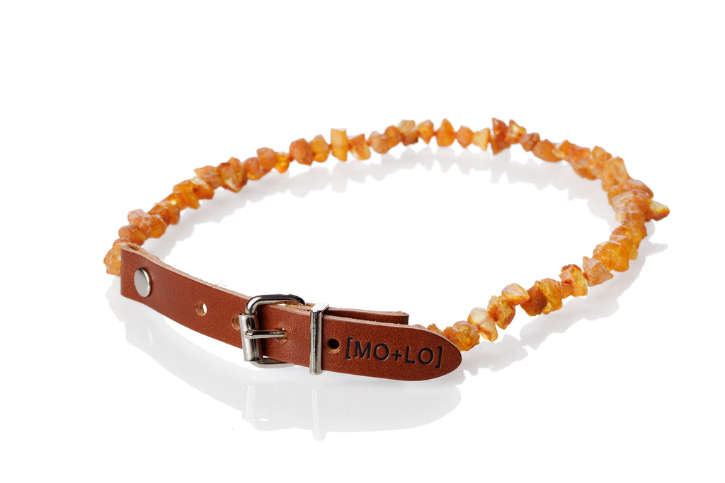 SUMMER SUNSET AMBER COLLAR