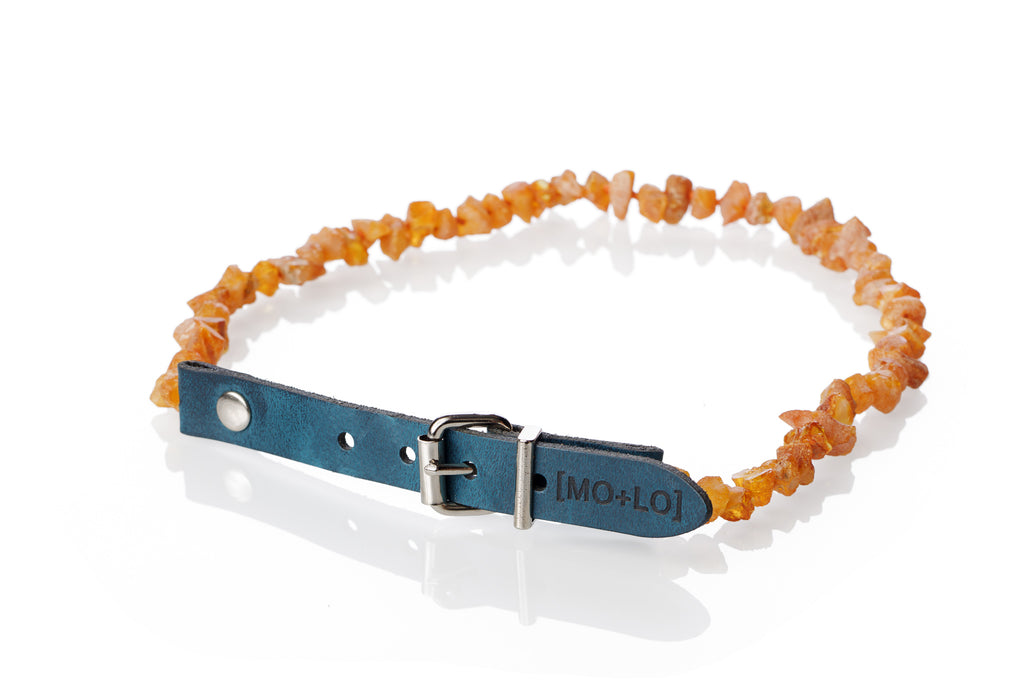 NAUTICAL AMBER COLLAR