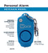 Pocket Model and Personal Alarm Combo- Blue