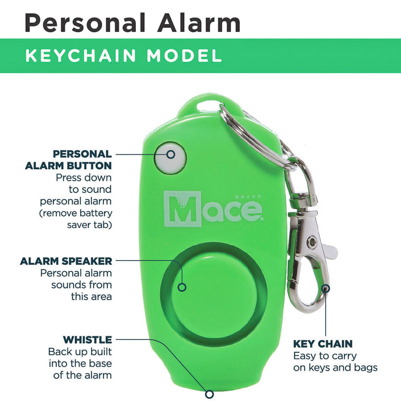 Pocket Model and Personal Alarm Combo - Green