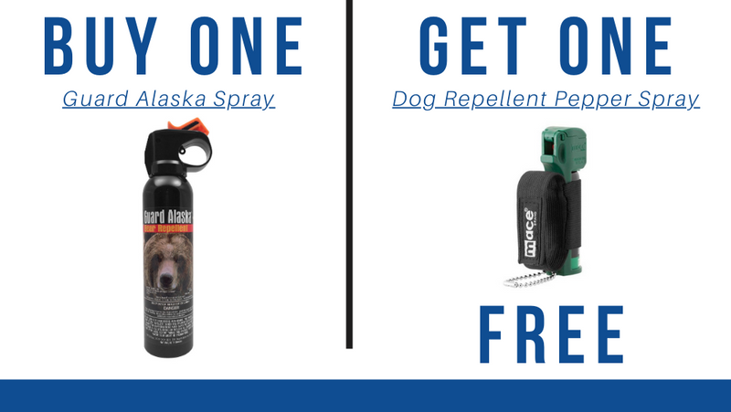 BOGO Bundle: Buy One Guard Alaska Pepper Spray Get One Dog Repellent Pepper Spray Free