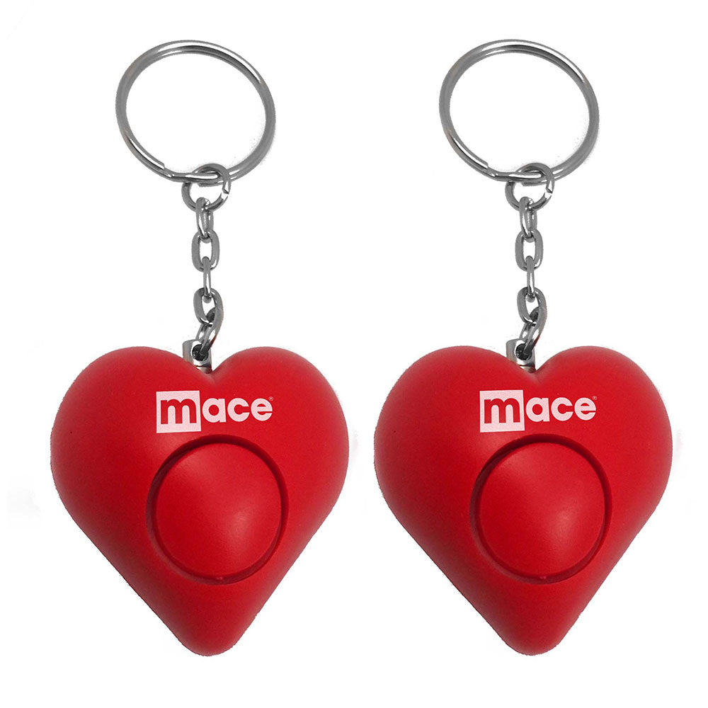 2-Pack Personal Alarm Heart