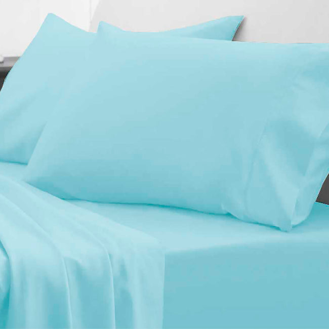Blue Waterproof Fitted Sheet