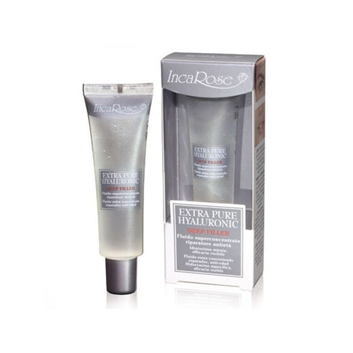 Inca Rose Deep Filler Concentrate - Extra Pure Hyaluronic Acid - Deeply Hydrating - Eye Cream