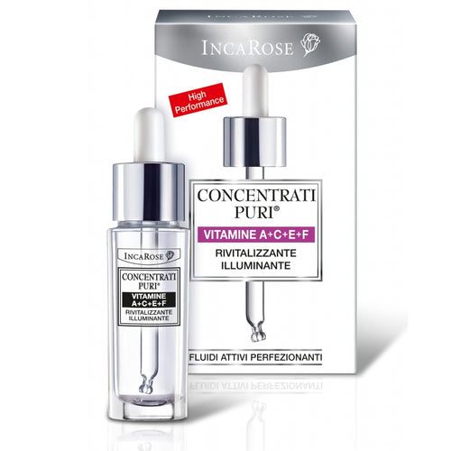 Inca Rose Pure Solutions Vitamins A+C+E+F Serum - Anti Ageing / Firming / Hydrating - Platinum Health & Beauty