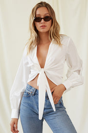 Alessandra Shirt in Ivory