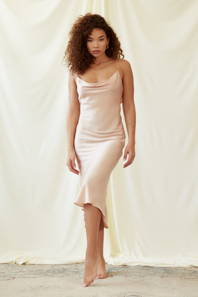 Kate Dress in Champagne