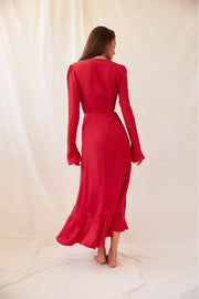 Chloé Dress in Red