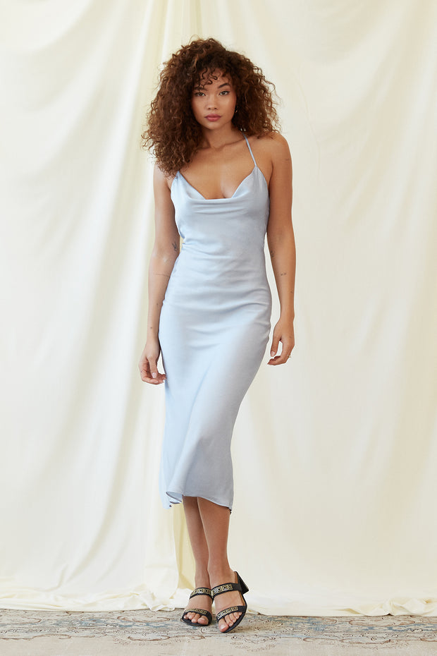 Kate Dress in Ice Blue